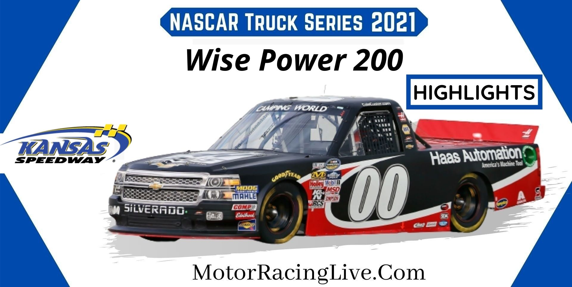 Wise Power 200 Highlights 2021 NASCAR Truck Series