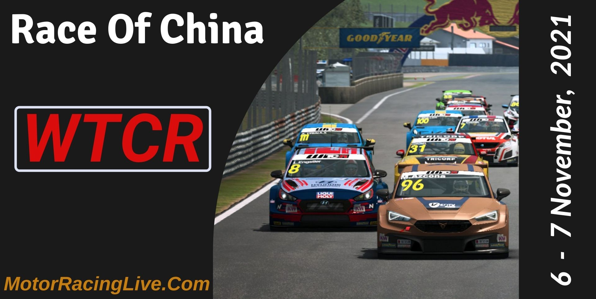 Race Of China Live Stream 2021 | WTCR
