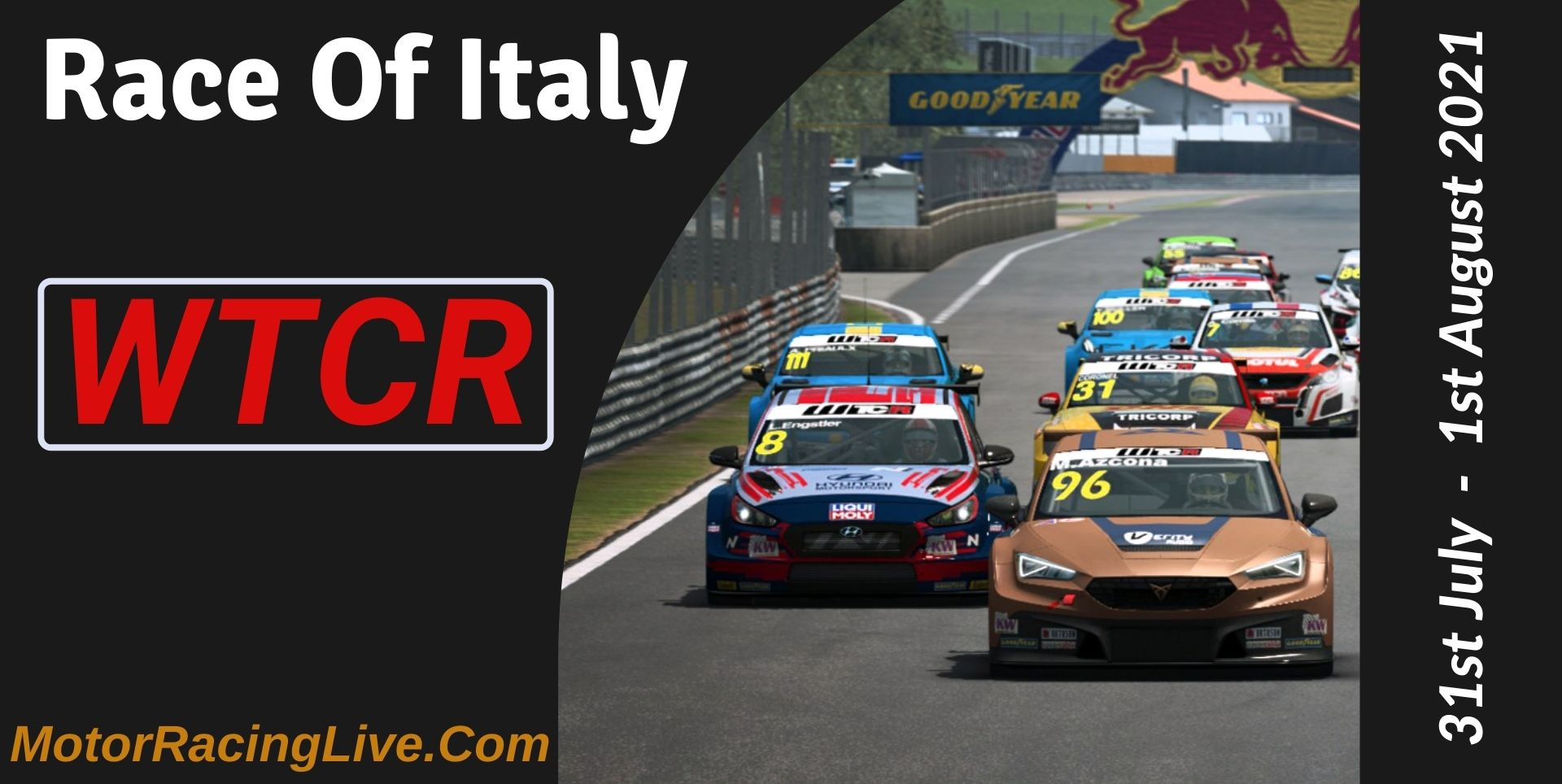 Race Of Italy Live Stream 2021   WTCR