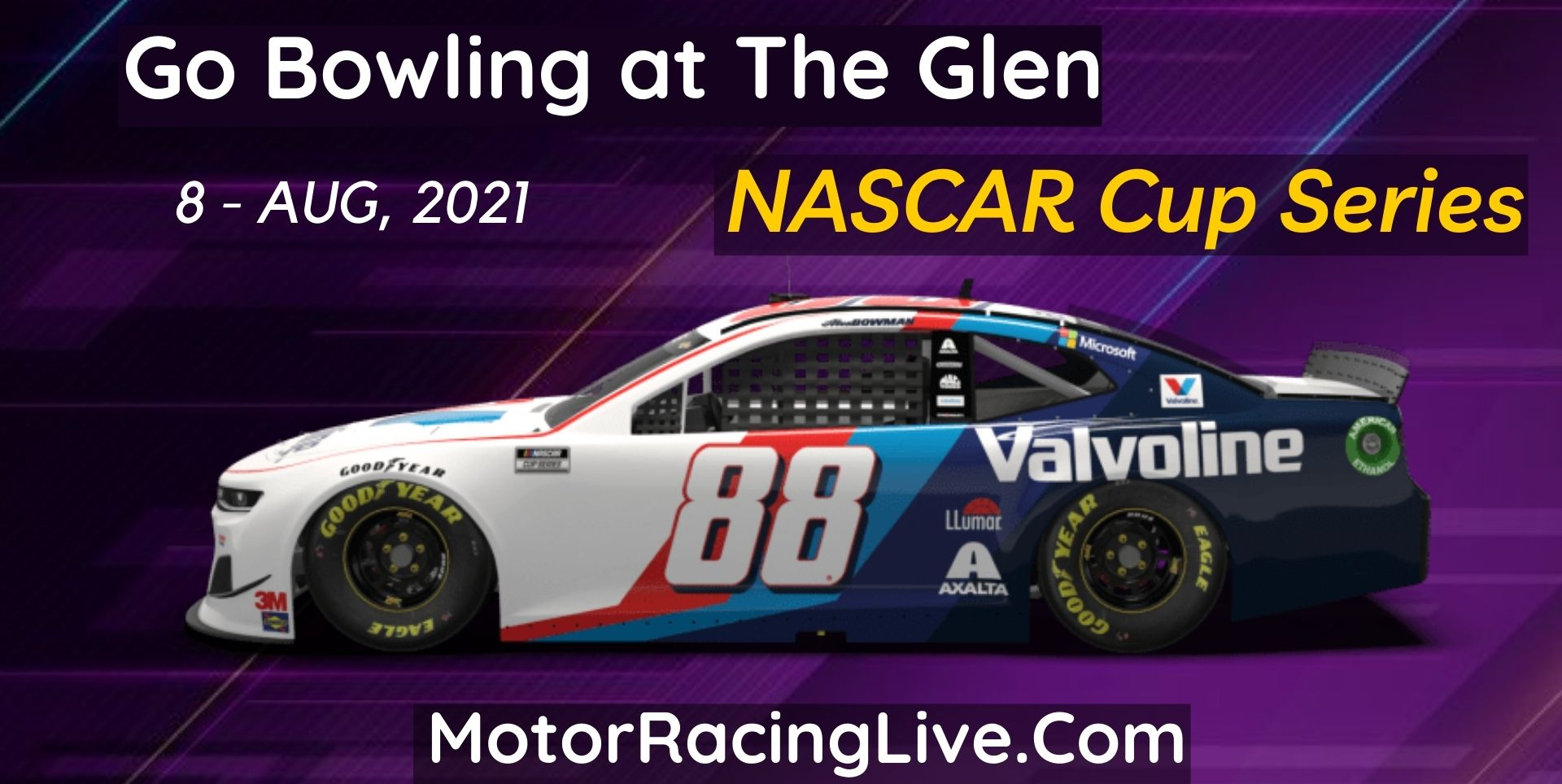 Go Bowling At The Glen Live Stream 2021: NASCAR Cup Series