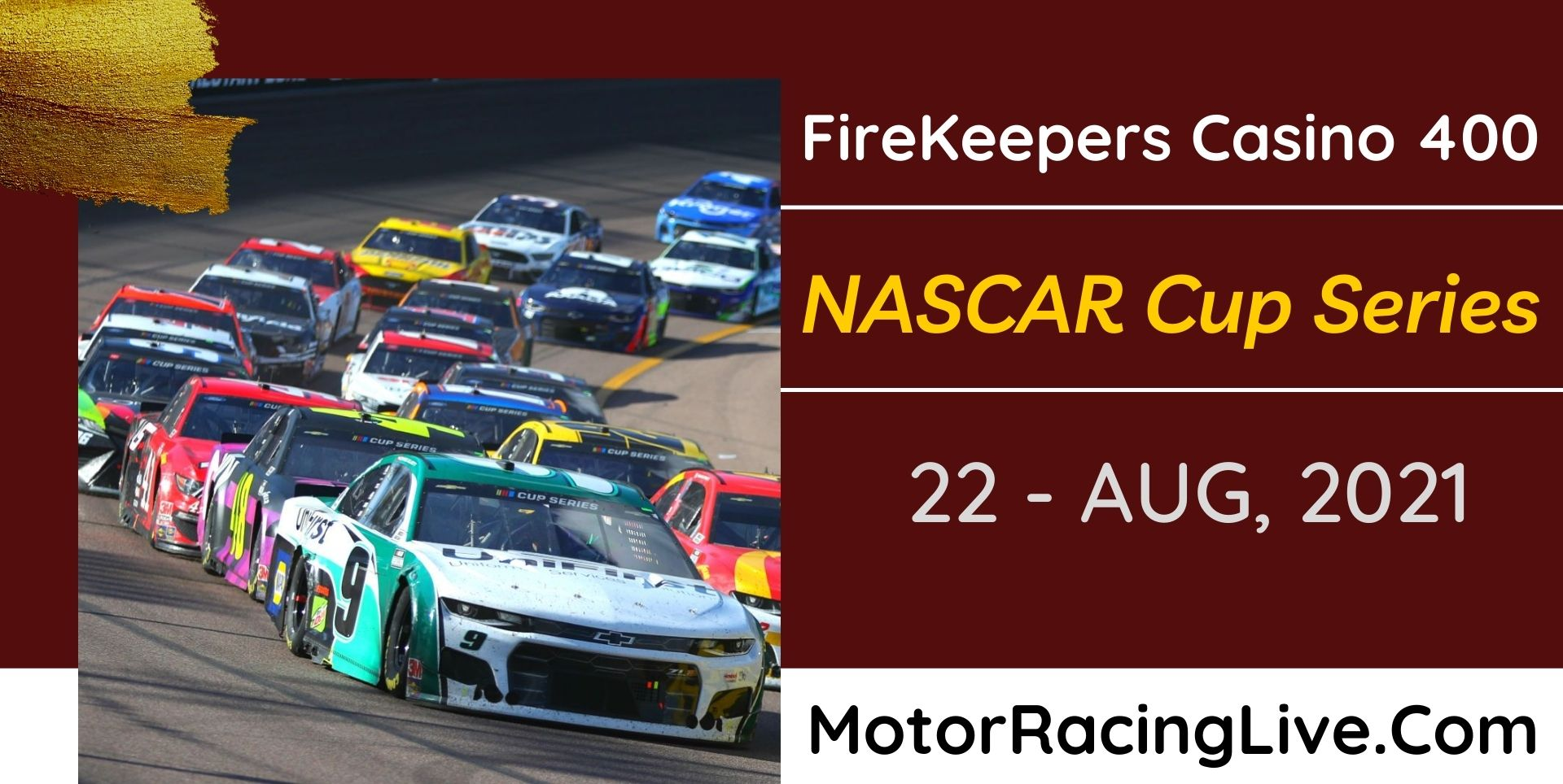 FireKeepers Casino 400 Live Stream 2021: NASCAR Cup