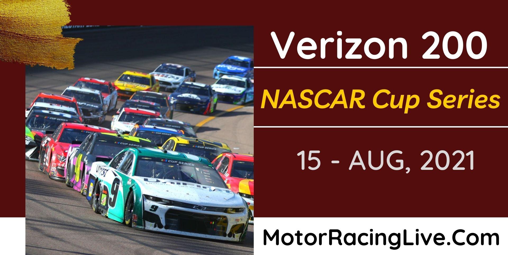 Verizon 200 Live Stream 2021: NASCAR Cup Series