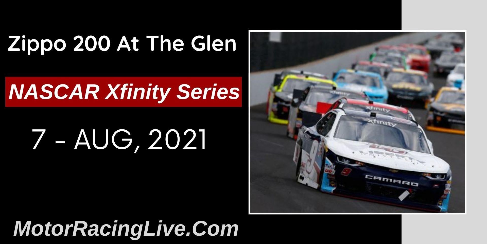 Zippo 200 At The Glen Live Stream 2021: NASCAR Xfinity